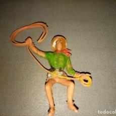 Figuras de Goma y PVC: FIGURA( INDIO /COWBOY/SOLDADO) REAMSA /COMANSI (SIMILAR) AÑOS 50/60 REF 17/03. Lote 98433603