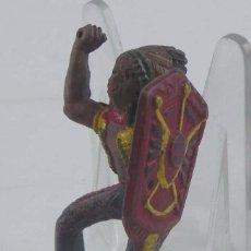 Figuras de Goma y PVC: FIGURA DE JINETE INDIO REALIZADO EN GOMA, REAMSA.. Lote 98536755