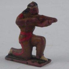 Figuras de Goma y PVC: FIGURA DE INDIO REALIZADO EN GOMA, FABRICADO POR REAMSA O PECH.. Lote 98547251