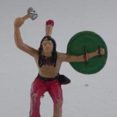 Figuras de Goma y PVC: ANTIGUA FIGURA DE PLASTICO, GUERRERO INDIO REAMSA NUMERO 22.. Lote 98548591