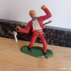 Figuras de Goma y PVC: VAQUERO REAMSA ASALTO A LA DILIGENCIA OESTE. Lote 98550975