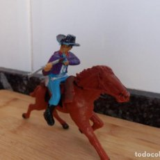 Figuras de Goma y PVC: VAQUERO REAMSA ASALTO A LA DILIGENCIA OESTE. Lote 98551015
