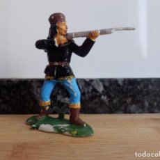 Figuras de Goma y PVC: VAQUERO REAMSA ASALTO A LA DILIGENCIA OESTE TRAMPERO . Lote 98551099