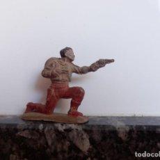 Figuras de Goma y PVC: VAQUERO MARCADA REAMSA OESTE EN GOMA . Lote 98551151