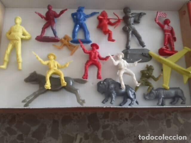 LOTE REAMSA Y OTROS (Juguetes - Figuras de Goma y Pvc - Reamsa y Gomarsa)