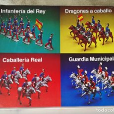 Figuras de Goma y PVC: GUARDIA MUNICIPAL SOLDIS EN CAJA GORMASA REAMSA. Lote 99784067