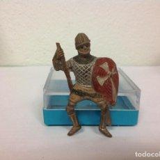 Figuras de Goma y PVC: FIGURA MEDIEVAL REAMSA FIGURA GOMA DE REAMSA AÑOS 50 . Lote 101112167