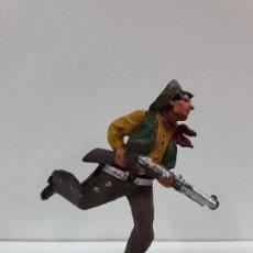 Figuras de Goma y PVC: VAQUERO - COWBOY CORRIENDO . FIGURA REAMSA Nº 65 . AÑOS 50 EN GOMA. Lote 101130855