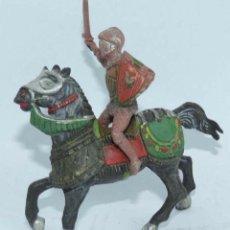 Figuras de Goma y PVC: CABALLERO MEDIEVAL DE LA MARCA REAMSA, REALIZADO EN GOMA, Nº 113.. Lote 104254727
