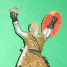 Figuras de Goma y PVC: GUERRERO MEDIEVAL SERIE RICARDO CORAZON DE LEON REAMSA AÑOS 50. Lote 104316495