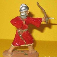 Figuras de Goma y PVC: ARABE CON ARCO SERIE RICARDO CORAZON DE LEON REAMSA AÑOS 50. Lote 104317383