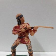 Figuras de Goma y PVC: GUERRERO INDIO - FIGURA REAMSA Nº 340 . SERIE APACHES . AÑOS 60. Lote 105929751