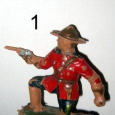 Figuras de Goma y PVC: POLICIA MONTADA DEL CANADA LOTE 1 REAMSA. Lote 109162899