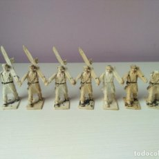 Figuras de Goma y PVC: LOTE 7 FIGURAS PVC REAMSA GOMARSA DESFILE REGIMIENTO ESQUIADORES EPOCA JECSAN PECH TEIXIDO COMANSI. Lote 109199795