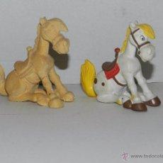 Figuras de Goma y PVC Schleich: (M) FIGURA JOLLY JUMPER SCHLEICH ( LUCKY LUKE ) + MOLDE ORIGINAL PARA HACER LA FIGURA, PIEZA UNICA. Lote 50052236