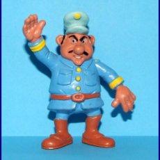 Figuras de Goma y PVC Schleich: AÑOS 80 LUCKY LUKE FIGURAS EN PVC SCHLEICH 1984 FIGURA CAPITAN GONZALES. Lote 90050280
