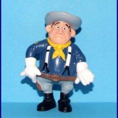 Figuras de Goma y PVC Schleich: AÑOS 80 LUCKY LUKE FIGURA EN PVC SCHLEICH 1984 SARGENTO (B). Lote 90050784