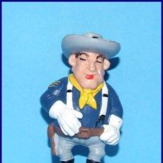 Figuras de Goma y PVC Schleich: AÑOS 80 LUCKY LUKE FIGURA EN PVC SCHLEICH 1984 SARGENTO (C). Lote 90050808