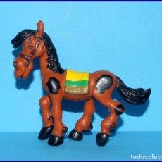 Figuras de Goma y PVC Schleich: AÑOS 80 LUCKY LUKE FIGURA EN PVC SCHLEICH 1984 CABALLO MUSTANG DE PATRONIMUS * MUY DIFICIL. Lote 90051064