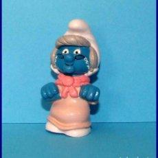 Figuras de Goma y PVC Schleich: PITUFOS SCHLEICH FIGURA 20408 PITUFINA ABUELA. Lote 98505103