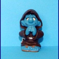 Figuras de Goma y PVC Schleich: PITUFOS SCHLEICH FIGURA 20431 PITUFO MONJE. Lote 98505299