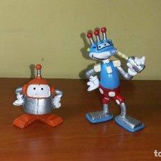 Figuras de Goma y PVC Schleich: LOTE FIGURA ROBOTINS MUÑECOS ROBOTS SCHLEICH AÑOS 80 PVC. Lote 98550531