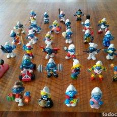 Figuras de Goma y PVC Schleich: PITUFOS 34 PITUFOS. Lote 98574994