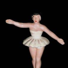 Figuras de Goma y PVC: BAILARINA PAULOVA, SERIE BAILARINAS DE BALLET, FABRICADA EN BAQUELITA, SOTORRES, ORIGINAL 1960.. Lote 78580105
