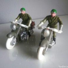 Figuras de Goma y PVC: MOTORISTAS GUARDIA CIVIL , MOTORISTA VUELTA CICLISTA, MOTO, SOTORRES '60 ,SIMILAR TEIXIDO, JECSAN... Lote 98562122