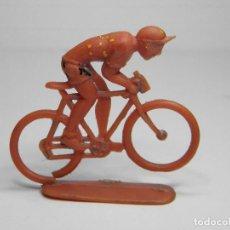 Figuras de Goma y PVC: FIGURA CICLISTA DE SOTORRES. Lote 102736723