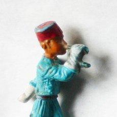Figuras de Goma y PVC: SOLDADO DE PÁSTICO, 5,3 CMS ALTO. MARCADA STARLUX.- VELL I BELL. Lote 25839994