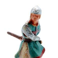 Figuras de Goma y PVC: MEDIEVAL STARLUX PLASTICO AÑOS 60. Lote 27962969