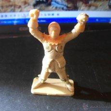 Figuras de Goma y PVC: STARLUX : FIGURA SOLDADO CABALLERO MEDIEVAL ORIGINAL AÑOS 60-70.PLÁSTICO. PTOY. Lote 41857898