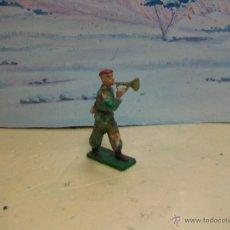 Figuras de Goma y PVC: FIGURA DESFILE DE STARLUX SERIE PARACAIDISTAS - PARACAIDISTA MODELO GOMARSA. Lote 42641228