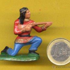 Figuras de Goma y PVC: OESTE INDIO AÑOS 70 STARLUX FRANCIA. Lote 49498918