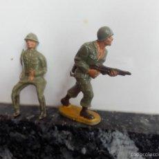 Figuras de Goma y PVC: SOLDADOS GUERRA MUNDIAL STARLUX SIN MARCAS . Lote 57524389