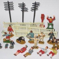 Figuras de Goma y PVC: LOTE FIGURITAS STARLUX VARIAS ESCALAS. Lote 64336779