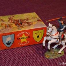 Figuras de Goma y PVC: CABALLO BLANCO / CHEVAL BLANC - STARLUX ANCIEN - BOITE 6103 - MUY ANTIGUO Y ORIGINAL - ¡HAZ OFERTA!. Lote 85666056