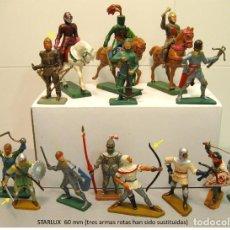 Figuras de Goma y PVC: FIGURAS MEDIEVALES. Lote 108455291