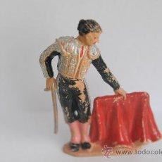 Figuras de Goma y PVC: FIGURA DE TORERO DE TEIXIDO. AÑOS 60.. Lote 29797280