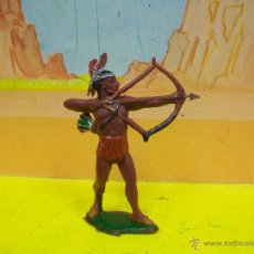 Figuras de Goma y PVC: FIGURA INDIO TEIXIDO - FIGURA INDIO AÑOS 60 TEIXIDOR. Lote 52277984