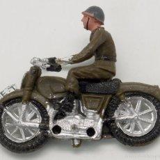 Figuras de Goma y PVC: MOTORISTA DESFILE TEIXIDÓ PLÁSTICO AÑOS 60 . Lote 56739875
