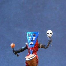 Figuras de Goma y PVC: HECHICERO BRUJO NEGRO DEL SAFARI.. Lote 68130197