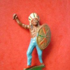 Figuras de Goma y PVC: INDIO EN GOMA TEIXIDO. Lote 73949599