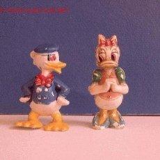 Figuras de Goma y PVC: PECH HERMANOS - 2 FIGURAS (PATO DONALD Y DAISY). Lote 1470015