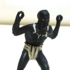 Figuras de Borracha e PVC: NEGRO DE GAMA FABRICADO EN GOMA. Lote 21073304
