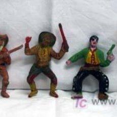 Figuras de Goma y PVC: 6 VAQUEROS DE COMANSI. Lote 5317881