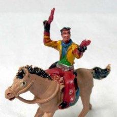 Figuras de Goma y PVC: VAQUERO A CABALLO DE MANUEL SOTORRES. Lote 7158666