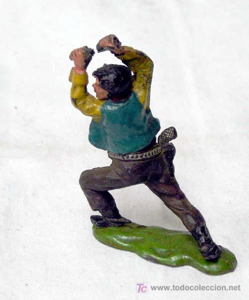 Figuras de Goma y PVC: Vaquero en goma de Reamsa años 50 - Foto 2 - 10797337