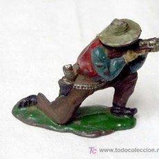 Figuras de Goma y PVC: VAQUERO EN GOMA DE REAMSA AÑOS 50. Lote 10797454